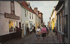 Norfolk Postcard - Staithe Street, Wells-Next-The-Sea    RS2164