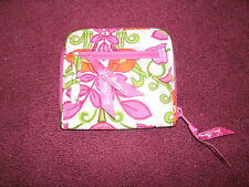 Vera Bradley Euro Wallet - LILLI BELL - 100% Authentic - NWOT - 10874-142