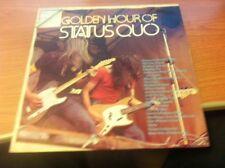 LP STATUS QUO GOLDEN HOUR OF STATUS QUO  ORL 8225 VG+/VG+ ITALY PS