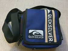 QUIKSILVER - Cross Body Shoulder Bag - Blue Maroon