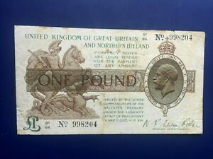ENGLAND 1 x £ 1 BANKNOTE
