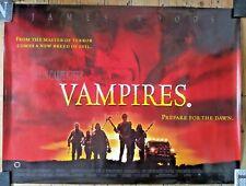 """John Carpenter VAMPIRES  Double Sided UK Quad poster 40"""" x 30"""" Horror Film Movie"""