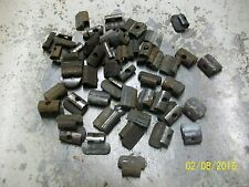 Wheel Weights for steel rims, wheels small lead 1/4's, 45 pieces