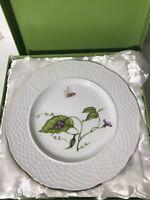 "New I Godinger and Co. Jardin  6 1/4"" Canape/Dessert Plates- Set of 4"