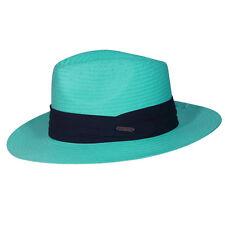 Chapeau style panama bleu