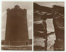 OLD POSTCARDS KITCHENER'S MEMORIAL & YESNABY ORKNEY SCOTLAND REAL PHOTOS 1930S