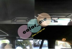 Dachhimmel, Himmel Färbeset, schwarz, anthrazit, Audi, S-line A1, A3, A4, A5, A6