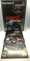 ESPN NBA Basketball - Complete - Tested - Good Cond. - Playstation 2 PS2