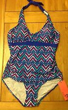 Adore - Fabulous Aztec Halterneck Swimming Costume - Size 16 - BNWT