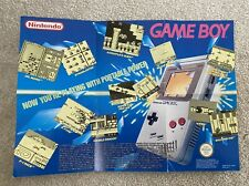 Nintendo Game Boy Leaflet / Poster From 1991