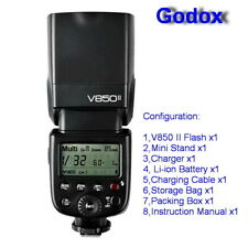 Godox V850II 2.4G GN60 Wireless X System Li-ion Battery Speedlite