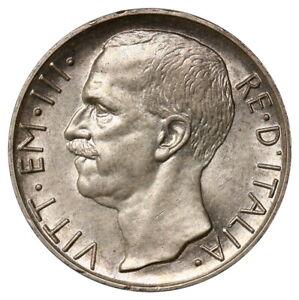 10 Lire, Italy, 1926, Vittorio Emanuele III