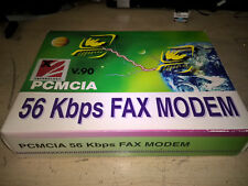 X2 Technologies PCMCIA 56 Kbps Fax Modem complete in box