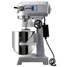 More details for 15l commercial planetary dough mixer stand food 600w cake bread hook beater whip