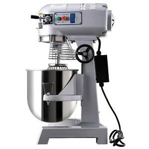 15L Commercial Planetary Dough Mixer Stand Food 600W Cake Bread Hook Beater Whip