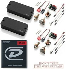 EMG TBCS THUNDERBIRD BASS ACTIVE PICKUP SET CERAMIC STEEL MAGNETS (BASS STRINGS)