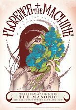 Florence & the Machine | Mo4 | Orig 2015 Concert Poster | Art by Matt Loomis