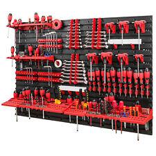 Werkzeugwand 1152 x 780 mm Set 58 Werkzeughaltern mit Lochwand Lagersystem