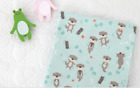 Otter Patterned Fabric made in Korea By the Yard