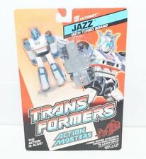 Jazz WHITE OUTLINE MOSC Sealed New 1989 Vintage G1 Transformers Action Master
