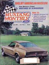 MUSTANG MONTHLY June 1984 Museum of Shelby American History 007 Mustang