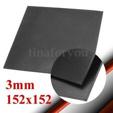 "3mm 1/9"" Thickness 6"" 152mm Square Rubber Sheet Chemical Resistance High Temp"