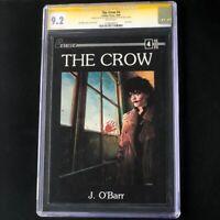 The Crow #4 (1989) 💥 CGC SS 9.2 💥 SIGNED + ORIGINAL SKETCH by JAMES O'BARR