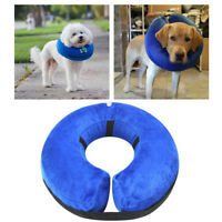 Pet Collar inflatable Buster Cone Small Medium Large Dog Cat recovery surgery
