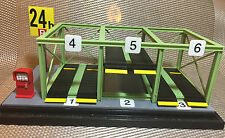NEW 24 HRS PARKING LOT DIORAMA DISPLAY CITY SCENE 1:64 FOR CHORO Q OR TOMICA CAR