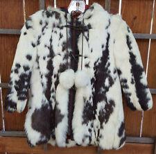 Vintage Caravelle Fur Coat-6-Genuine Franch Fur-White/Black-New York-White Black