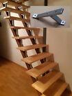 Treppe selber bauen - MB Treppenstufenhalter für alle Steigungswinkel (Guss)