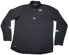 Men's Nike Running Element Activewear 3M Logo Long Sleeve Shirt Size Medium NEW