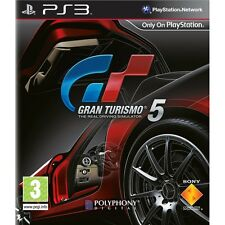 Gran Turismo 5, Sony Playstation 3 game, PS3, USED