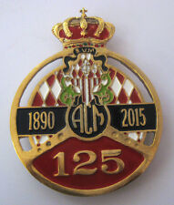 AUTOMOBILE CLUB MONACO 125 CAR GRILL BADGE EMBLEM MG JAGUAR TRIUMPH PORSCHE FERR