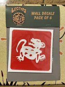 6pc Set Legends Of The Hidden Temple The Nick Box 2021 Wall Decals NICKELODEON