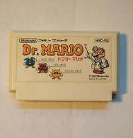 Dr. Mario (Nintendo Famicom FC NES, 1989) Japan Import