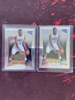 Kemba Walker 2012-13 Panini Prizm Rookie Card #225  Bobcats Celtics RC Lot Of 2