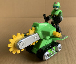 Playskool Heroes Transformers Rescue Bots Walker Cleveland / Rescue Saw Figure