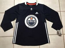 NWT ADIDAS Edmonton Oilers NHL Authentic Practice Jersey Men's Size 52
