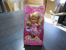 NEW Barbie Sister Chelsea Easter Blonde Doll Bunny Rabbit 2014 Toy Figure