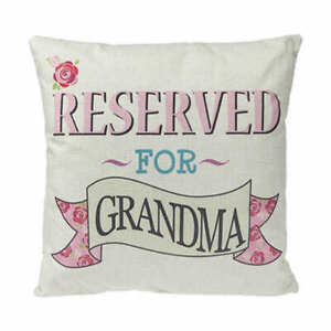 Personalized Reserved Family Grandma Mum Cushion Pillow Gift Present Mothers day