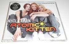 ATOMIC KITTEN - WHOLE AGAIN - 2001 UK 3 TRACK CD SINGLE