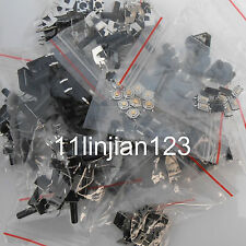 120pcs (each 10 pieces) Momentary Tact Tactile Push Button Switch SMD Set