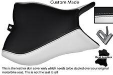 BLACK & WHITE CUSTOM FITS HONDA CB 1000 R 08-13 FRONT RIDER SEAT COVER