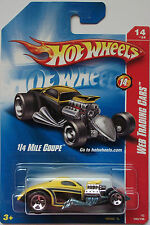 2008 Hot Wheels ~Web Trading Cars~ 1/4 Mile Coupe 14/24 (Yellow Version)