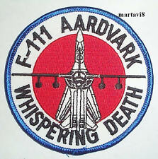 US. Air Force `F-111 Aircraft` Cloth Badge / Patch (F111-1)