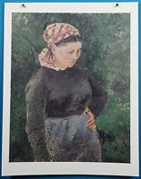 "Camille Pissarro ""Peasant Woman"" Print in 50 French Impressionist Masterpieces"