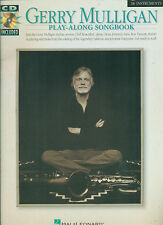"""GERRY MULLIGAN """"PLAY-ALONG BOOK AND CD"""" B FLAT INSTRUMENTS MUSIC BOOK BRAND NEW!"""