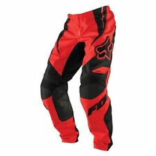 Fox Racing Adult 180 Race Off Road MX Pants Red Black Size 30