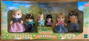 Sylvanian Families Shiba Inu Family Calico Critters Epoch Japan